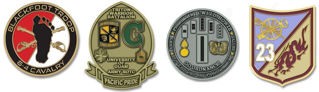6-4 Calvary Recon Command Unit Coins