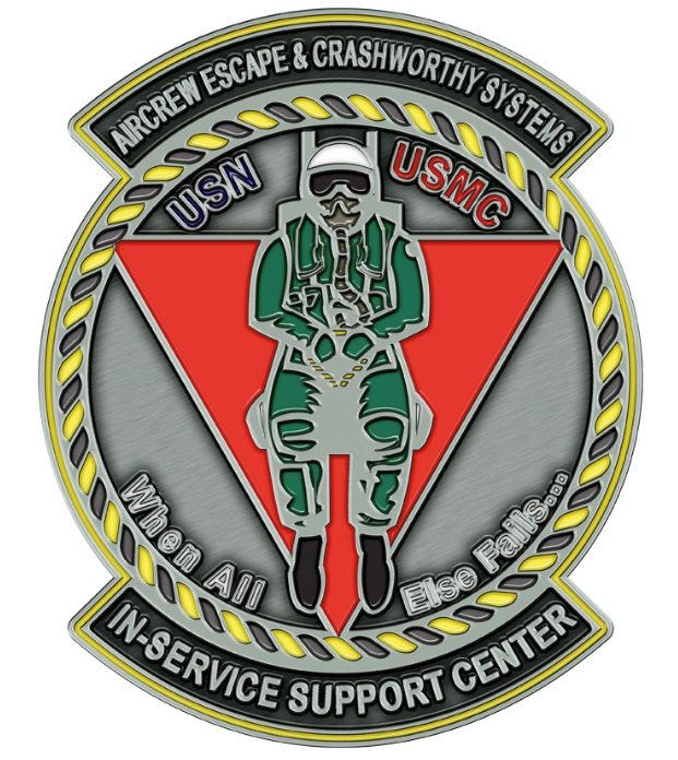 Aircrew Escape Systems Coin