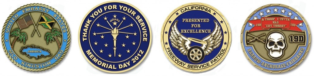 Challenge Coin Examples