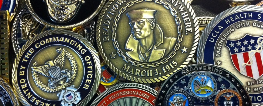 Commemorative Military Coins