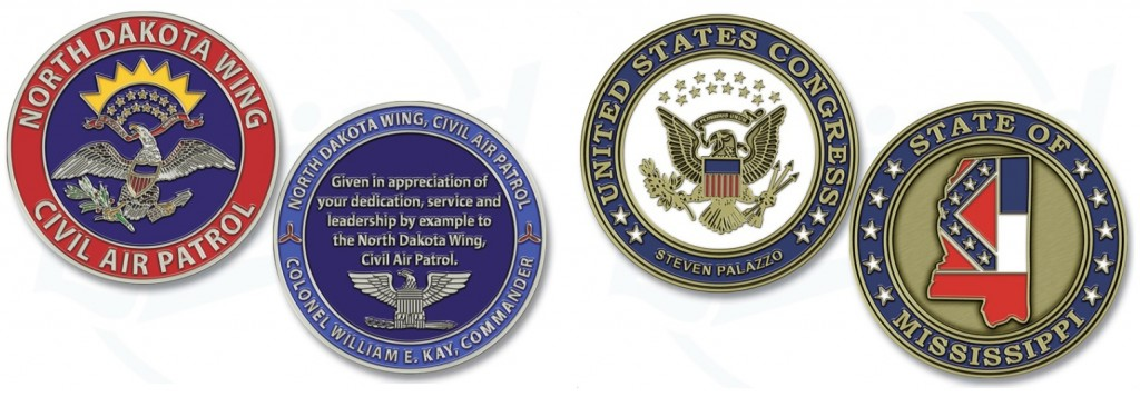 Custom Military Challenge Coins Manufacturer