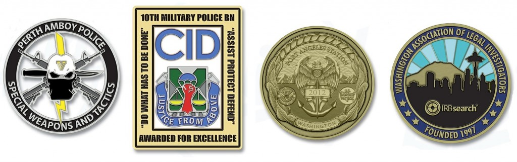 Fort Bragg Military Police Coins