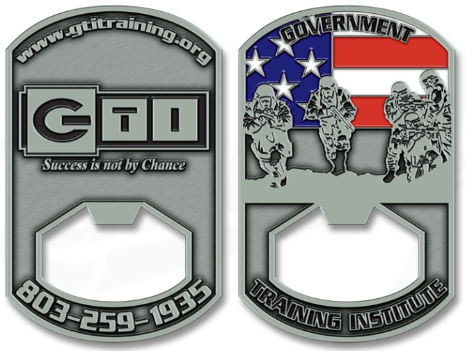 Custom Military Challenge Coin Bottle Openers Challenge