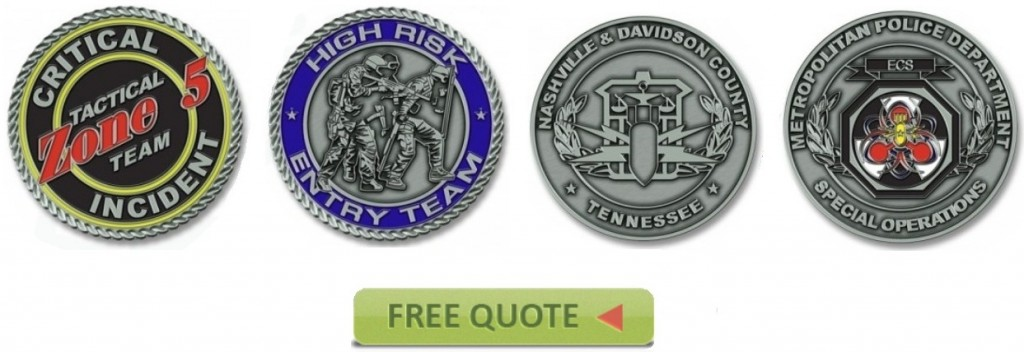 Law Enforcement Challenge Coins Quote