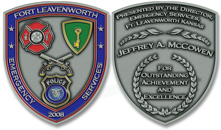 Leavenworth Excellence Coins