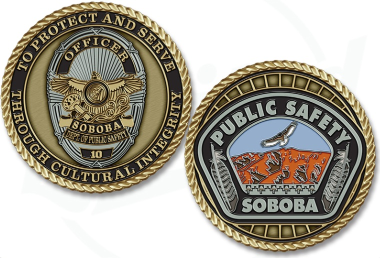 Police Badge Coin