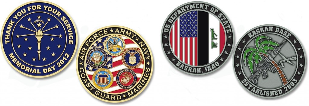 US Armed Forces Military Coins