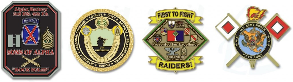 US Army Custom Military Coins
