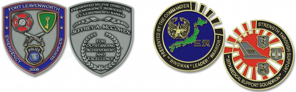 Leavenworth Military Excellence Coins