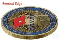 Edge Options With Challenge Coins | Challenge Coins Limited