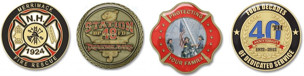 911 EMS Emergency Management Challenge Coins