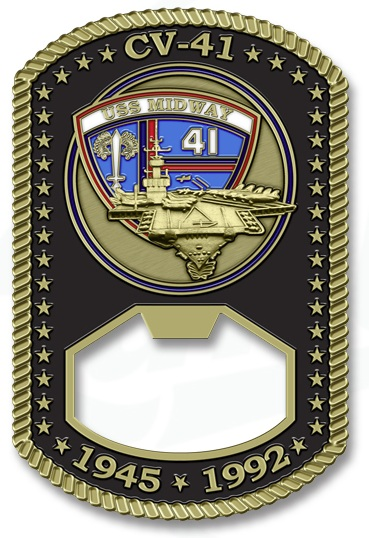 """Pop the Top"""" With Challenge Coin Bottle Openers   Challenge"""