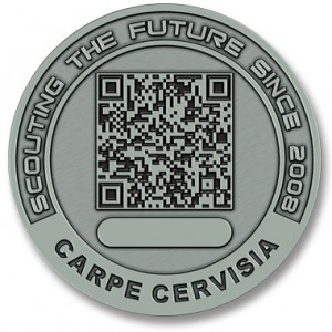 Challenge Coin With QR Code