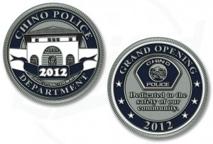 Chino California Police Department Challenge Coin