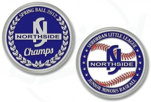 Northside Little League Challenge Coin