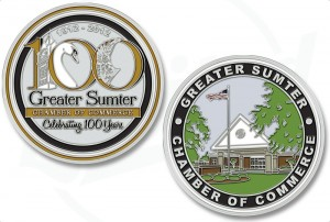 Sumter South Carolina Challenge Coins