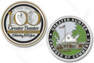 Sumter South Carolina Challenge Coins